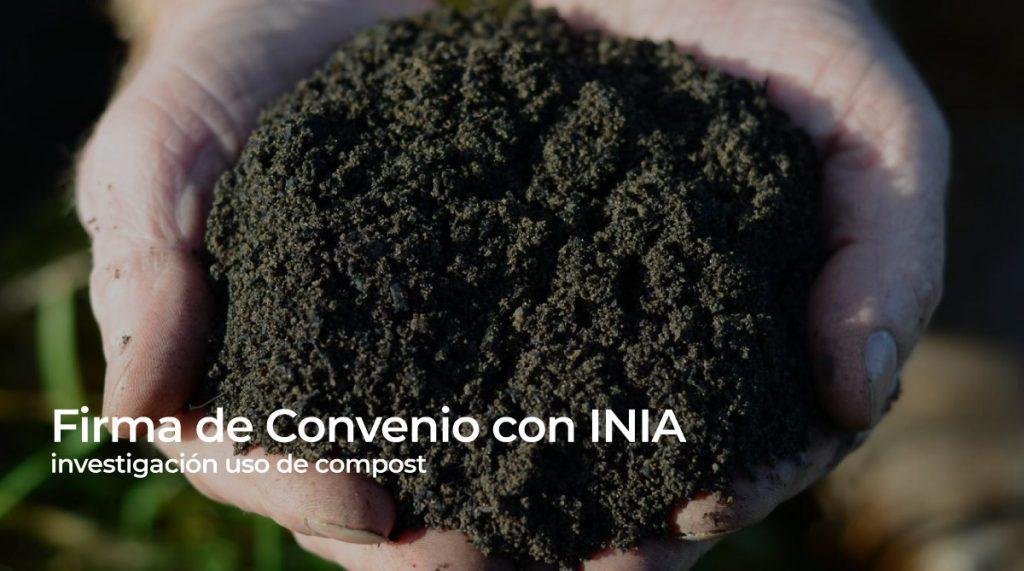 Firma de Convenio con INIA investigación uso de compost